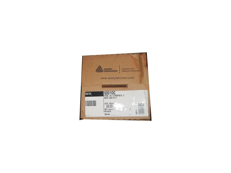 amazon com avery dennison white adhesive vinyl roll 15x50 yds 460010c