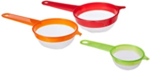 Uniware 3 Sphere Set Strainers - Green, Orange & Red [P71115]