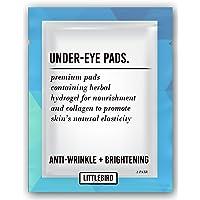 50 Pairs Premium Hydrating Anti-Wrinkle Brightening Under Eye Gel Pads - Luxurious Eye Treatment for Eyelash Extension Session