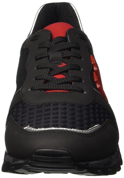 Shoe Bikkembergs Numb 650 M Er Low Leatherlycra PumpsBlau Herren D29IHWE