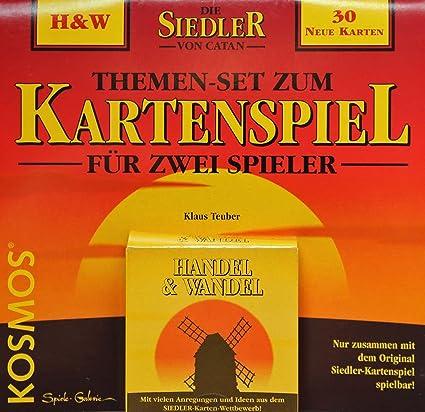 Kosmos Los colonos de Catán - Juego de cartas (temática sobre comercio y cambio) [en alemán]: Amazon.es: Juguetes y juegos