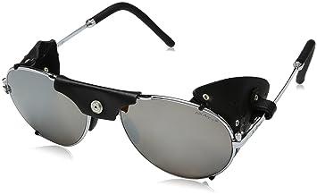 Julbo Cham Gafas de Sol Mixta, Color Plateado/Negro, tamaño Talla única