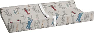 product image for Glenna Jean Fly-by Diaper Changing Pad, Grey Cover-Airplane Print