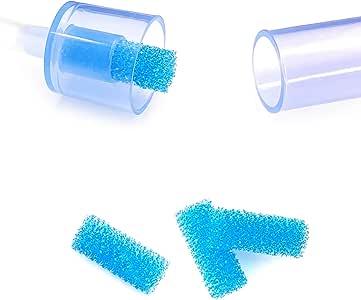 120-Pack of Premium Nasal Aspirator Hygiene Filters, for NoseFrida Nasal Aspirator Filters, BPA, Phthalate & Latex-Free