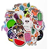 Stickers for Water Bottles | Big 30-Pack | Cute,Waterproof,Aesthetic,Trendy Stickers for Teens,Girls | Perfect for Waterbottle,Laptop,Phone,Travel | Extra Durable 100% Vinyl