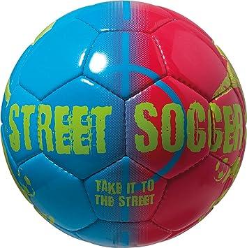 Derbystar Street Soccer - Balón de fútbol, Color Azul/Rojo, Talla ...
