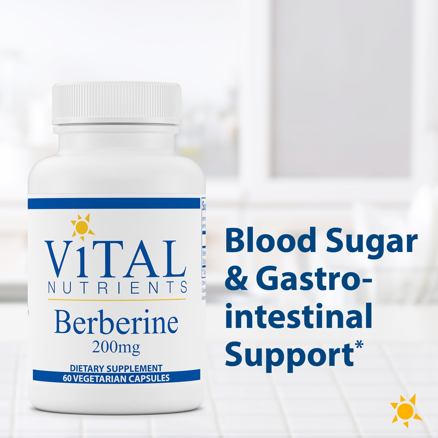 Vital Nutrients - Berberine 200 mg - Supports Regular and Normal Bowel Function - 60 Capsules by Vital Nutrients (Image #3)