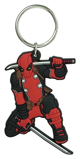 Marvel Deadpool - Llavero de PVC de tacto suave: Amazon.es ...