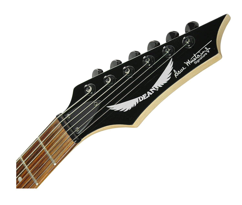 Dean Guitars VMNTX CBK - Guitarra eléctrica, color negro: Amazon.es: Instrumentos musicales