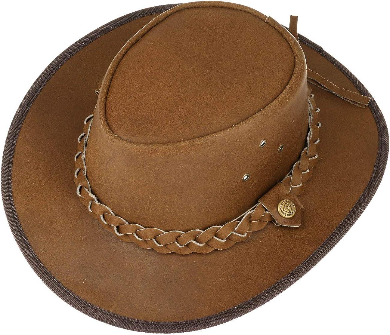 Hooley Leather Hat men/´s hat cowboy hat