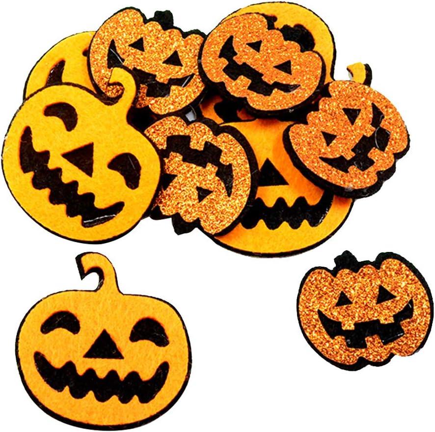 Cabeza de Calavera Sharplace 10X Parches de Termoadhesivos//Parches Ropa para Decoraciones de Halloween DIY para Bolso