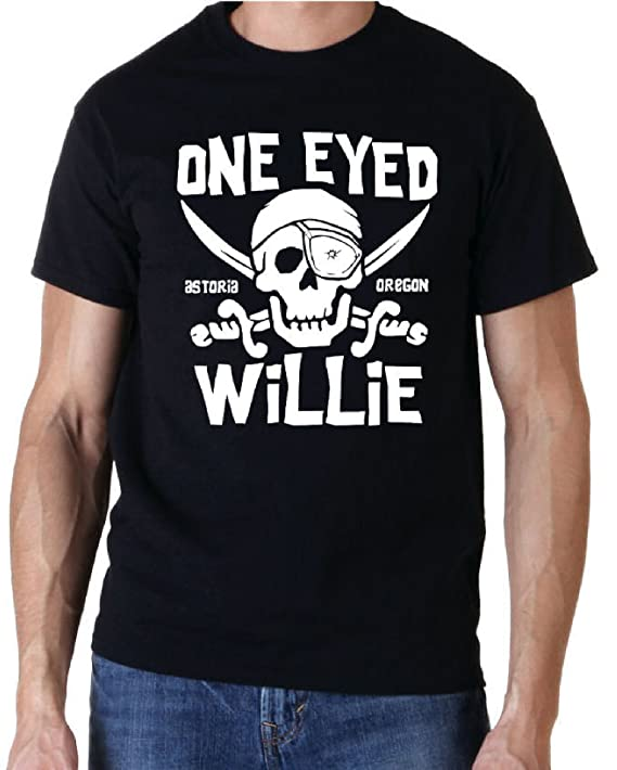 Goonies One Eyed Willie 80s T-shirt, S to XXL