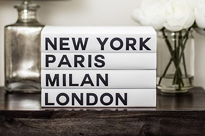 Decorative Books, Fashion Books, Fashion Design, New York, London, Paris,
