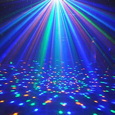 LED Disco Ball Lamp with E27 Base, Color Changing RGB Rotating Stage Light for Party, Clubs, Bars and Home (White) - - Amazon.com