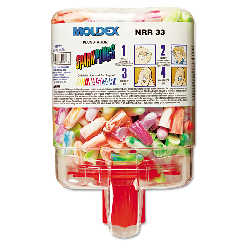 Moldex 6644 PlugStation Ear Plug Dispenser with 250 Pairs by Moldex (Image #1)