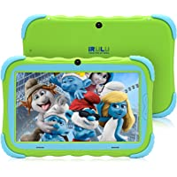 iRULU Tablet de 7 Pulgadas Google Android 6.0 Quad Core 1024x600 Cámara Dual Wi-Fi Bluetooth 1GB/8GB Play Store Netfilix Skype Juego 3D Compatible con GMS Certified con Garantía de un año (Verde)
