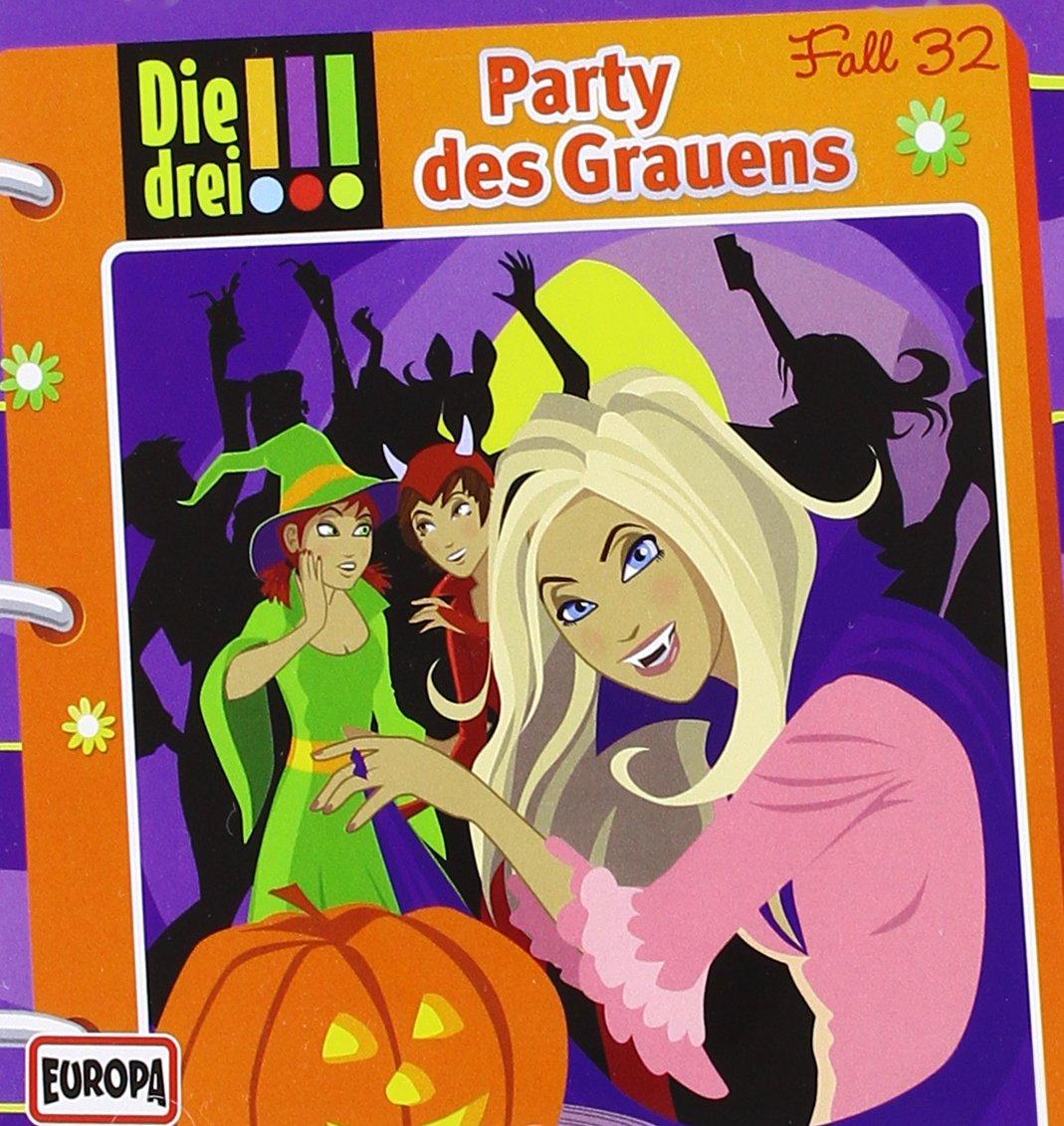 Party des Grauens (drei Ausrufezeichen) (German) Audio CD – Audiobook, 4  Jul 2014