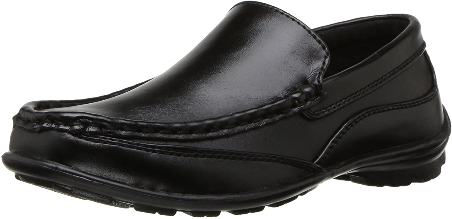 Deer Stags Kid's Booster Driving Moc Style Dress Comfort Loafer (Little Kid/Big Kid)