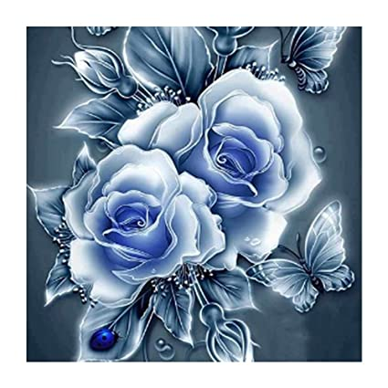Arts,crafts & Sewing Lovely 100% Full Diy 5d Diamond Painting Flower In The Sea Cross Stitch Diamond Embroidery Patterns Rhinestones Diamond Mosaic Decor