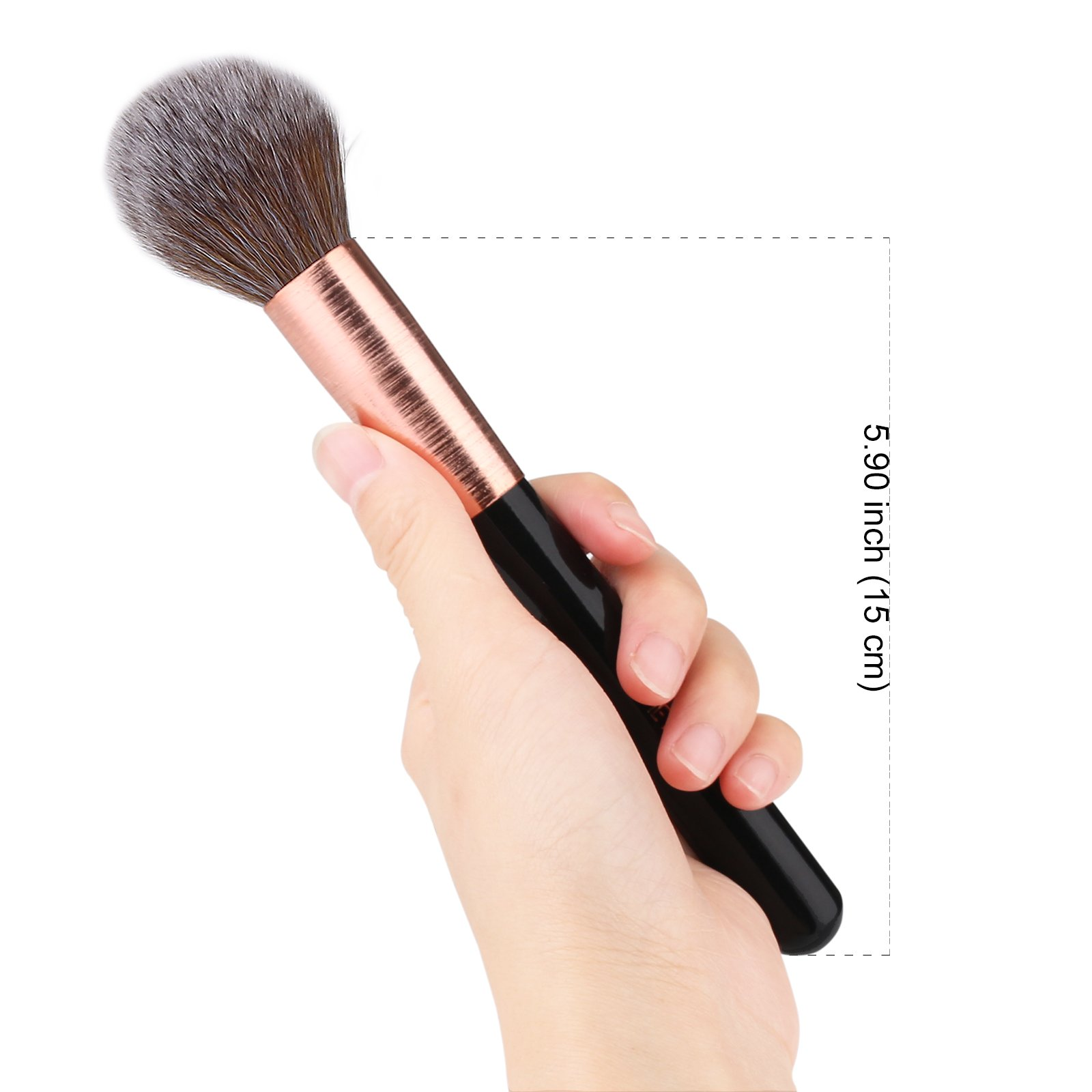 MEYSHAR Powder Blush Makeup Brush Cosmetic Foundation Cream Makeup Tool Professional Large Makeup Brushes