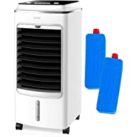 MYLEK Portable Air Cooler for Home, Mobile, 3 Speeds, Cooling Humidifier & Oscillation Function