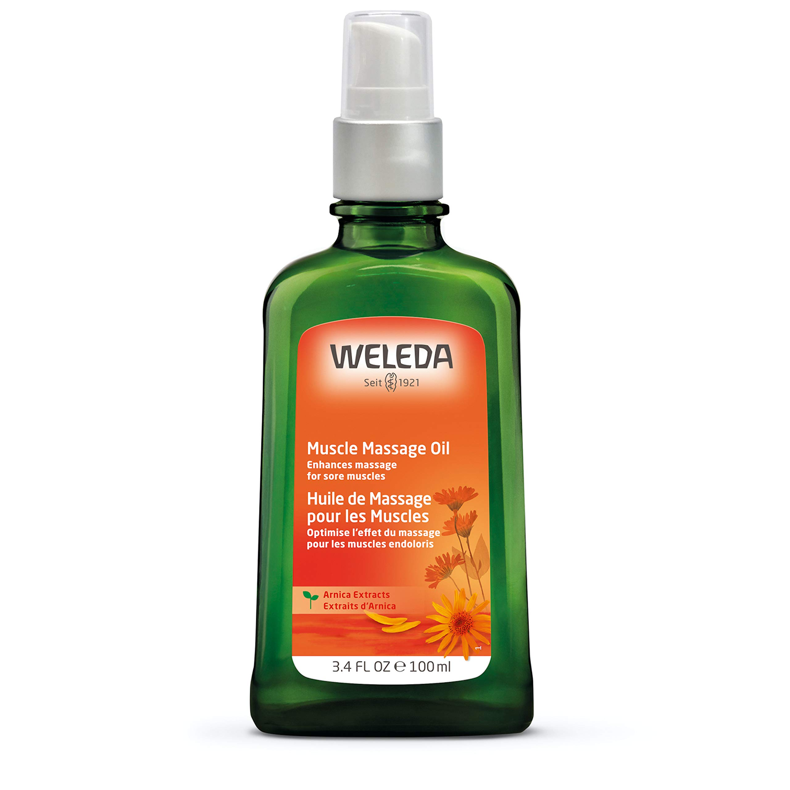 Weleda Muscle Massage Oil, Arnica, 3.4 Fl Oz
