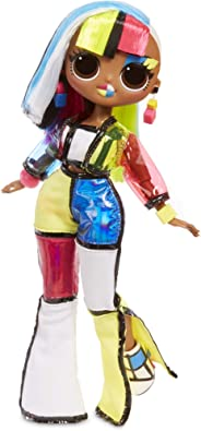 L.O.L Surprise! O.M.G. Lights Angles Fashion Doll with 15 Surprises