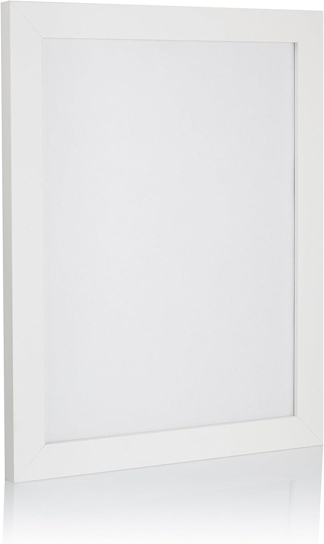 GMGold Rubia Cornice per foto A2 dimensioni variabili 59,4x42 per casa e ufficio Acrilico Black Pack of 1 colore bianco dimensioni in centimetri
