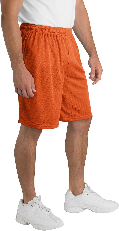 Sport-Tek PosiCharge8482; Classic Mesh Short-Deep Orange