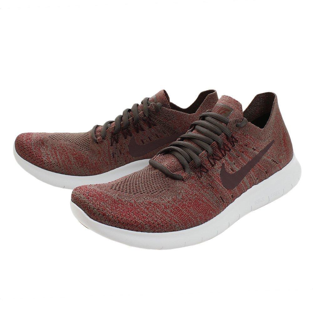 Nike Pánské Free RN Flyknit 2017 Běžecké boty Šedá/ Burgundy Široký výběr X24150