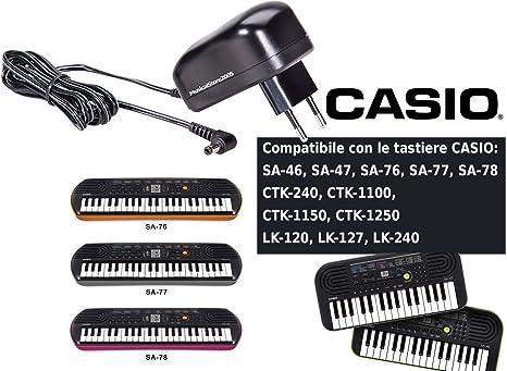 Casio fuente para teclado Casio serie SA/CTK/LK