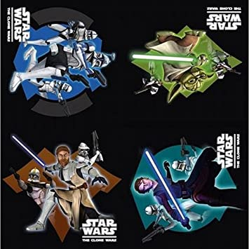 Amazon.com: Star Wars The Clone Wars Party Servilletas, 16 ...