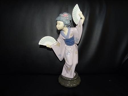 Lladró – España Porcelana Figura: Japanerin con compartimentos – Nuevo: Amazon.es: Hogar