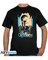 ABYstyle ABYstyleABYTEX099_GD-L Abysse Star Wars Dj Wookie Short Sleeves Man Basic T-Shirt (Large)