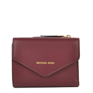 MICHAEL Michael Kors Mujeres Blakely pequeña cartera de cuero sobre única Talla Rojo: Amazon.es: Ropa y accesorios
