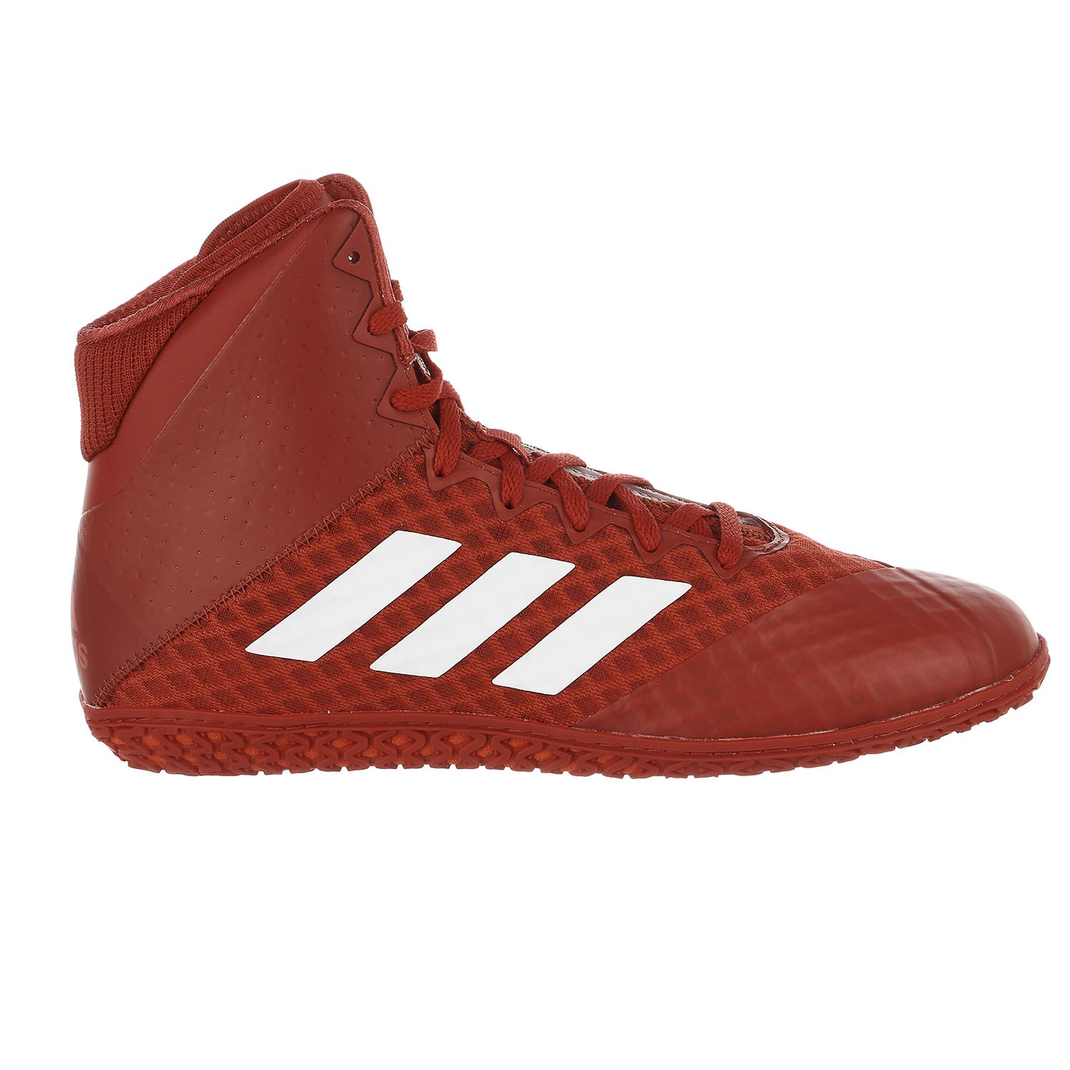 Adidas Tapis Wizard 4 Rouge Blanc Wrestling Chaussures (Ac6972)