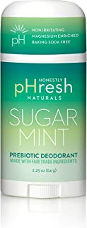 product image for Honestly pHresh- Natural Deodorant for Women and Men - Vegan, Gluten Free, Aluminum Free & Paraben Free, Naturally Derived Ingredients Baking Soda Free Deodorant