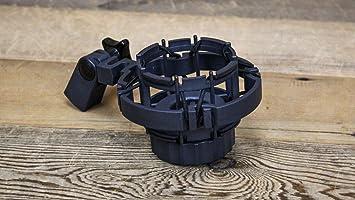 Black Shock Mount fits AKG C460B Microphone Shockmount Suspension C-460-B