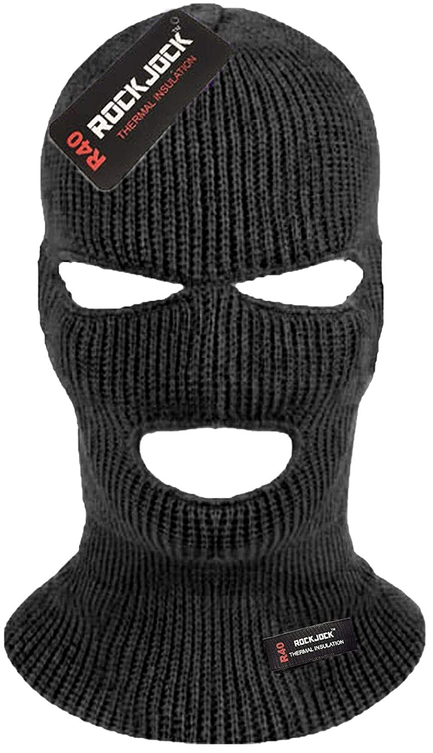 a4d21322 Black military sas style 3 hole balaclava: Amazon.co.uk: Sports & Outdoors