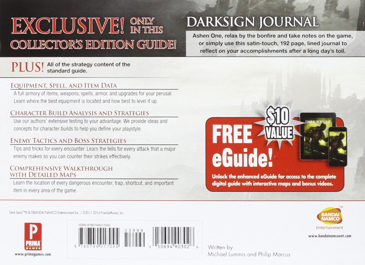 Dark Souls III Collectors Edition Prima Official Game Guide Prima