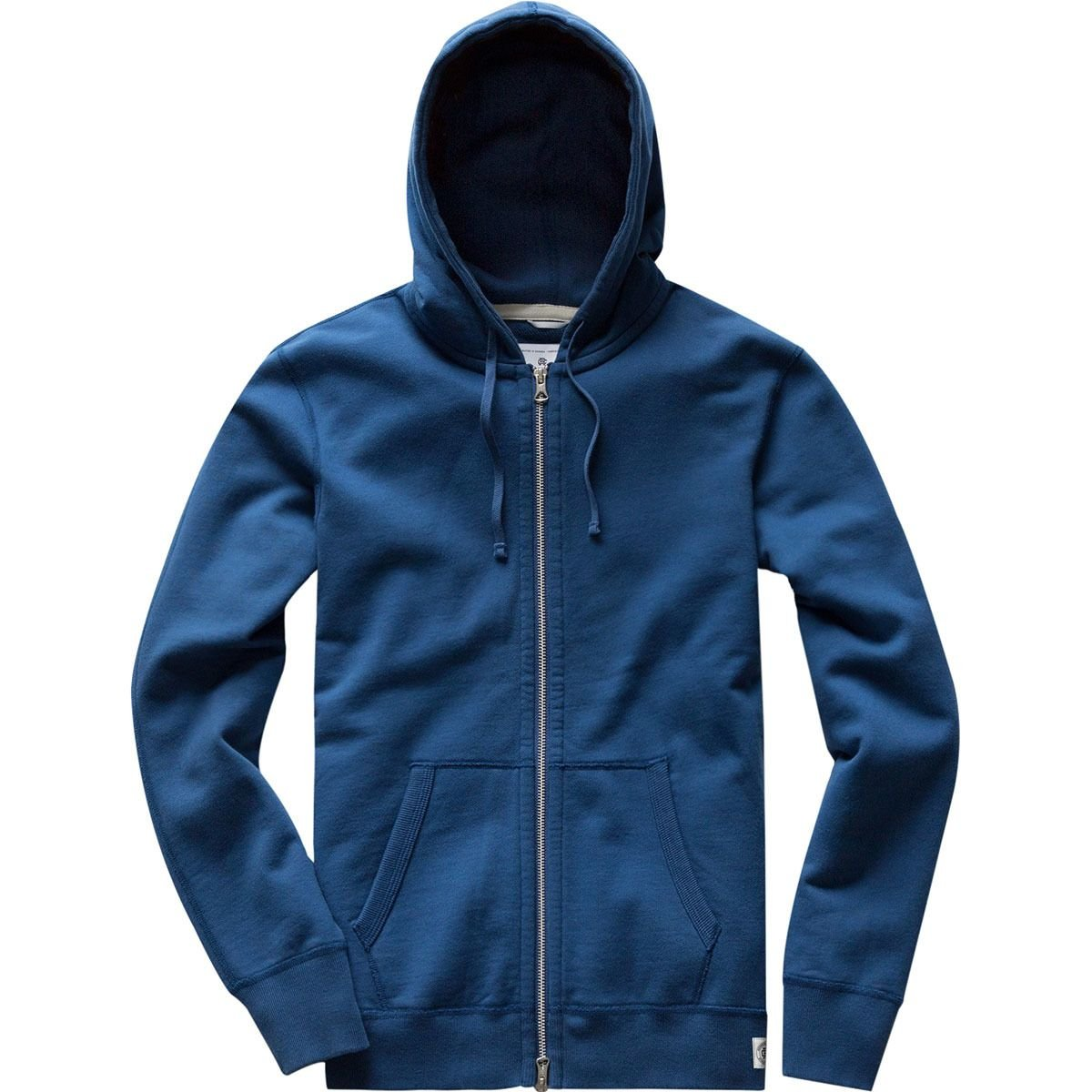Reigning Champ Full-Zip Hoodie - Men's Court Blue, M