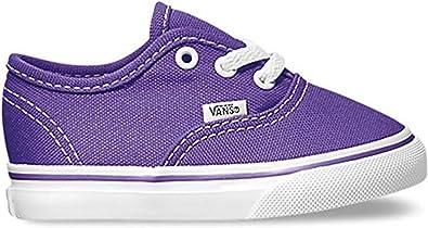 VANS Baskets Authentic Bébé - Taille 22 EU (11 CM): Amazon ...