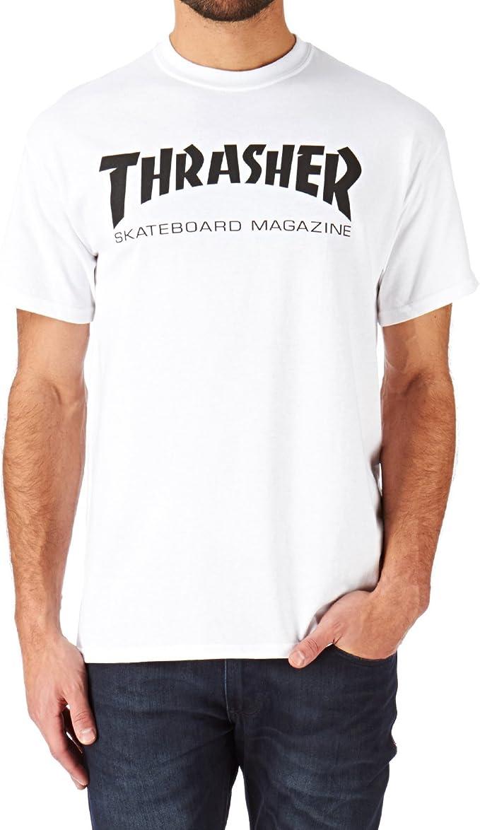 Skate Mag Logo Thrasher Magazine Pullover Hoodie Heather