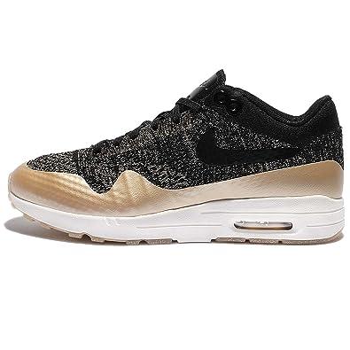 Nike Sportswear Air Max 1 Ultra Flyknit Trainers BlackAnthracite  Ga7007