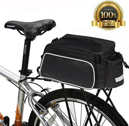 MTB Road Bike Bicycle Rear Rack Seat Saddle Trunk Tail Storage Pannier Bag New
