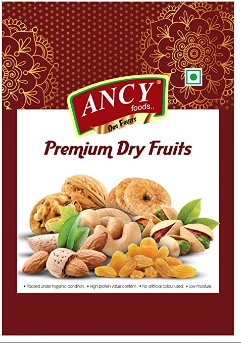 Ancy Premium Dry Fruits Special Combos (Anjeer & Dry Dates/chuara (500g Each))