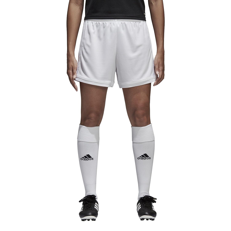 AdidasレディースサッカーSquadra 17 Shorts B01HE3BZ4A 3S|ホワイト/ホワイト ホワイト/ホワイト 3S