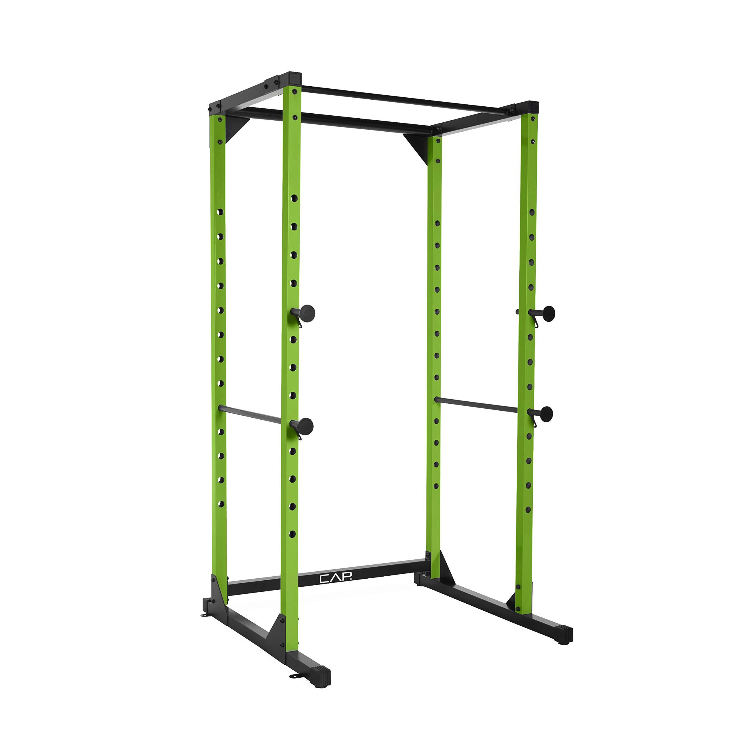CAP Barbell Full Cage Power Rack, 7-Foot, Green