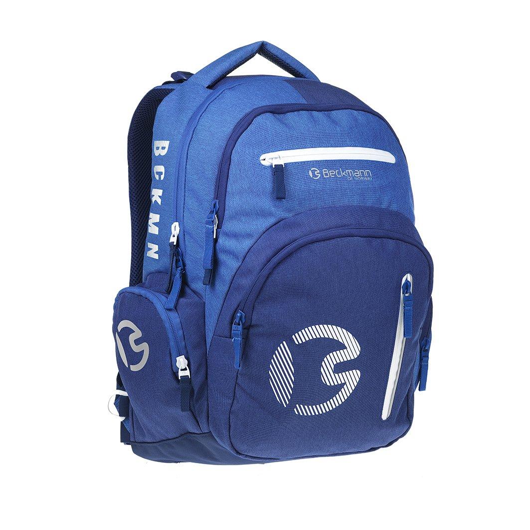ergonomischer Schulrucksack 30l Sport junior Blau