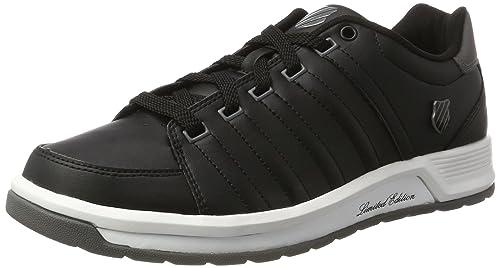 K-Swiss Men's Berlo Ii S Low-Top Sneakers, Black (Black/